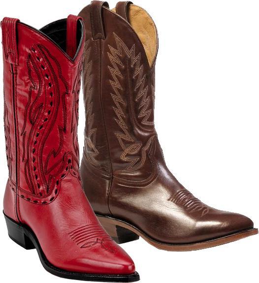 Shiny Cowboy Boots