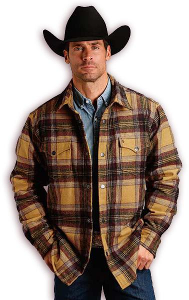 Cowboy Western flannel outerwear at Scott Colburn Boots and Western Wear