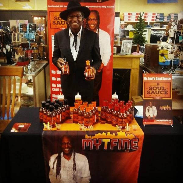 Soul Sauce display at Scott Colburn Boots and Western Wear