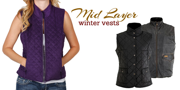 Winter vest from Outback Trading Company