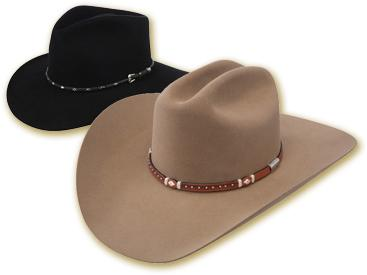 Felt and fur felt cowboy hats at Scott Colburn Boots _ Western Wear