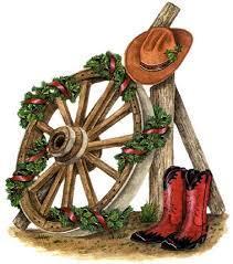 Cowboy Cowgirl Christmas