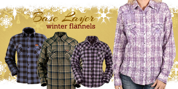 Winter flannels from Outback Trading Company