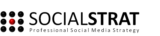 SOCIALSTRAT with Strapline
