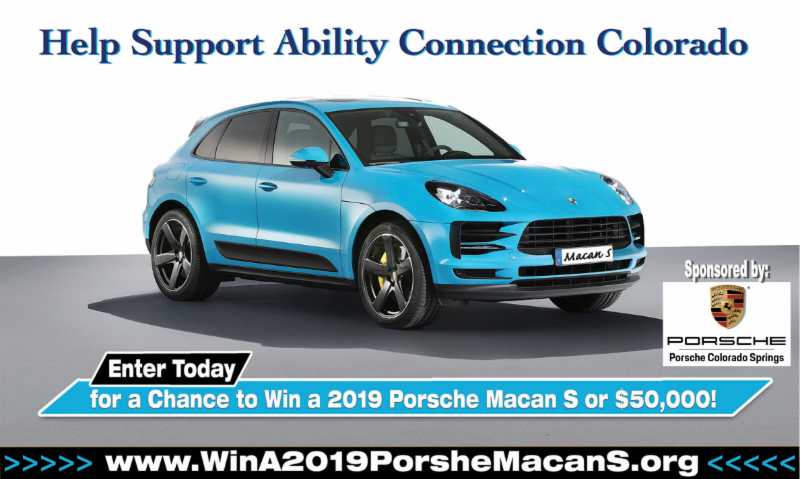 Porsche Macan S sponsored by Porsche of CO Springs