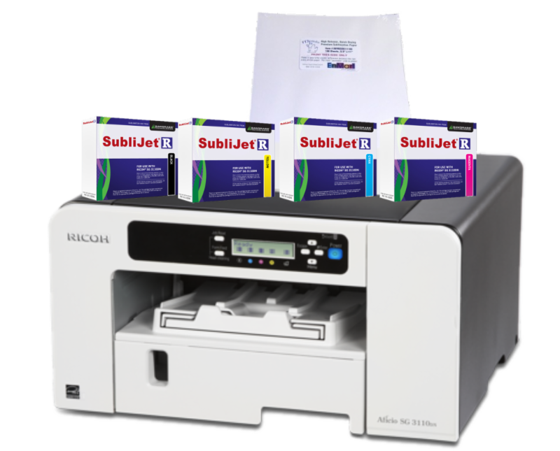 quickstartr2 sublimation chromablast system