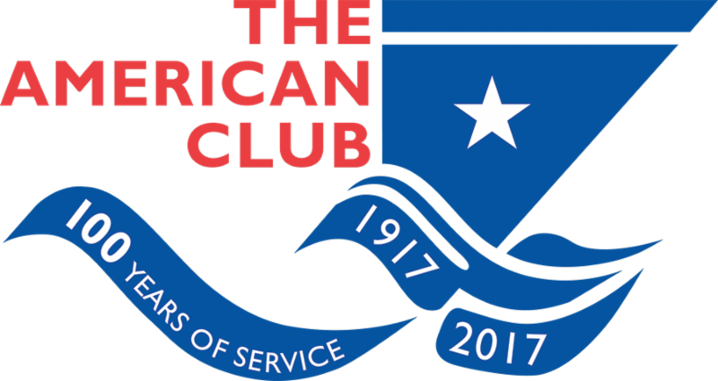 The American Club P and I celebrating 100 years of service