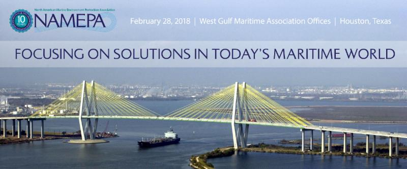 NAMEPA Focusing on Solutions in Today Maritime World Houston Texas Maritime Event 2018