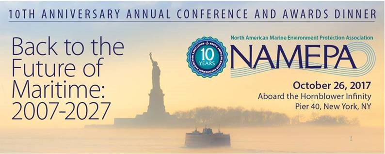 NAMEPA Back to the Future of Maritime New York City October 26 2017