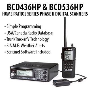 Home Patrol Series Phase II Scanners