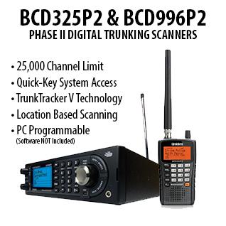 P2 Series Digital Trunking Scanners
