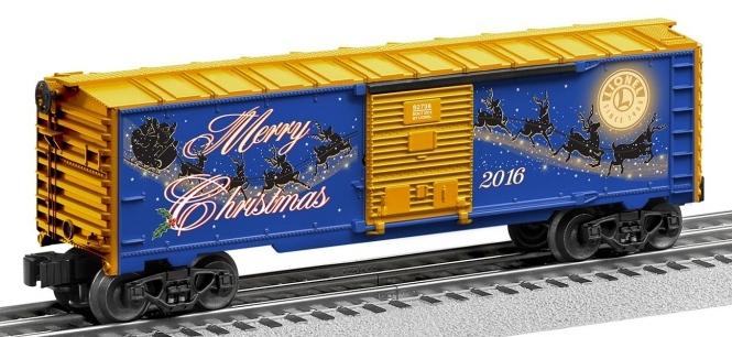 LIONEL KINKADE CHRISTMAS BOXCAR 6-83163 bRAND NEW