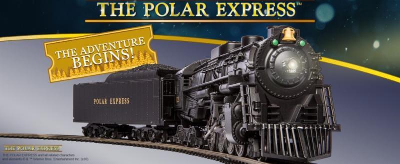 LIONEL HO SCALE POLAR EXPRESS PASSENGER 3 CAR SET train lighted 6-58019 NEW