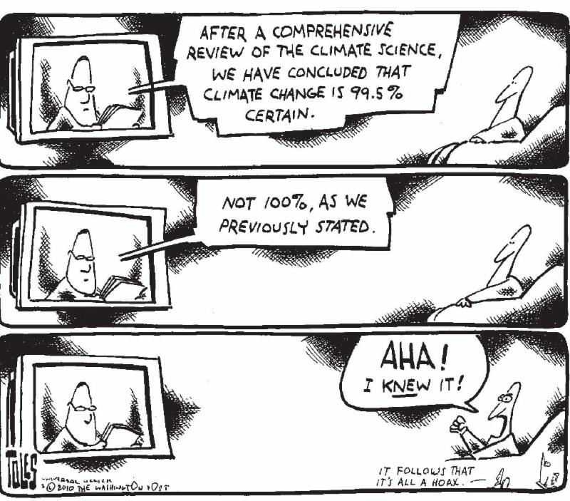 Tom Toles, Madhouse Effect
