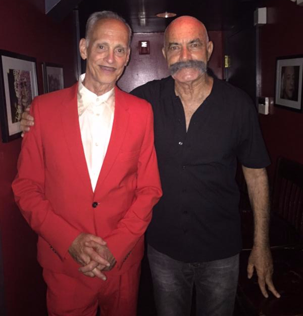 John Waters and Emanuel Levy
