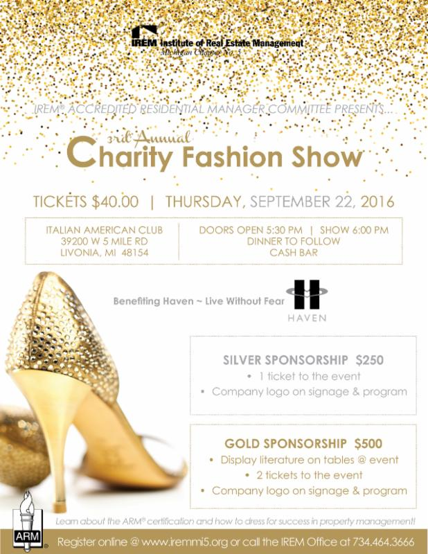 3rd Annual Irem Arm Charity Fashion Show