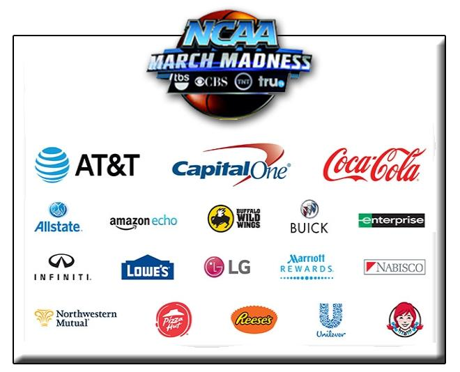 NCAA March Madness Sponsors