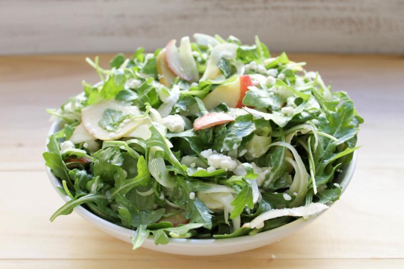 Chicken Apple Arugula Goat Cheese Salad Recipes — Dishmaps