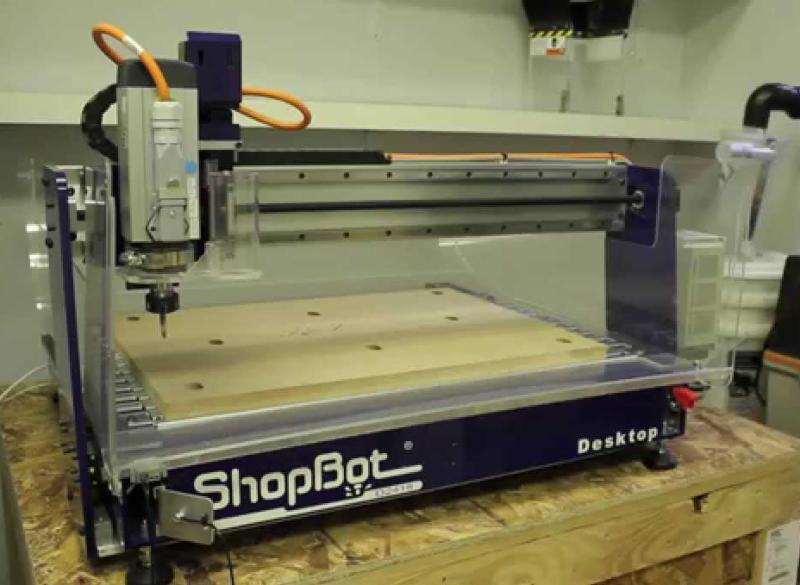 Marvelous Introduction To The Shopbot Desktop Cnc Carving Machine Interior Design Ideas Inamawefileorg