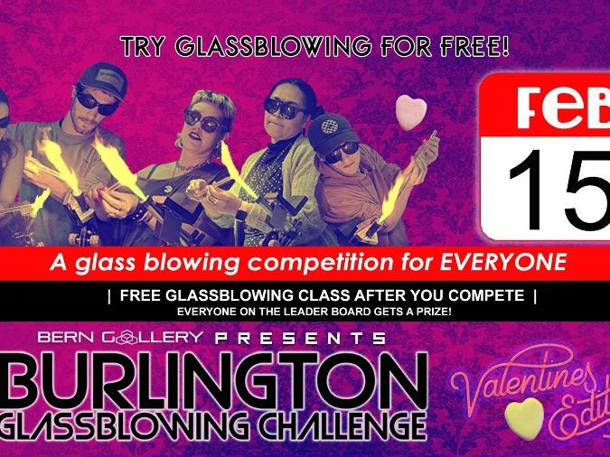 A glass blowing competition for everyone