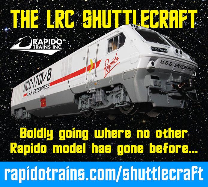 Rapido LRC Shuttlecraft