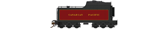 Rapido Canadian Pacific Royal Hudson Tender