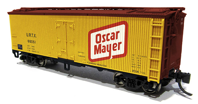 Rapido N scale Reefer