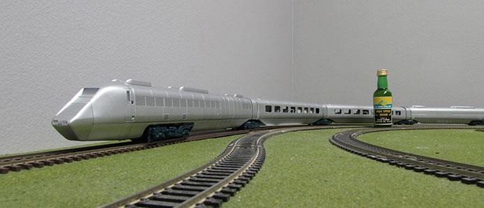 Rapido OO APT-E Model