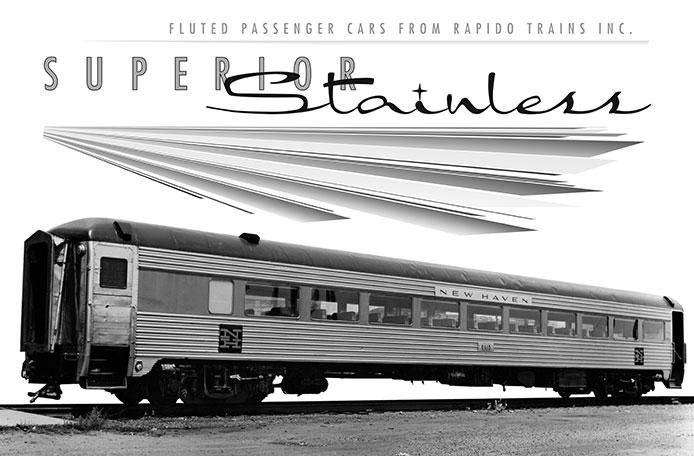 New Haven Rapido 8600 Coaches