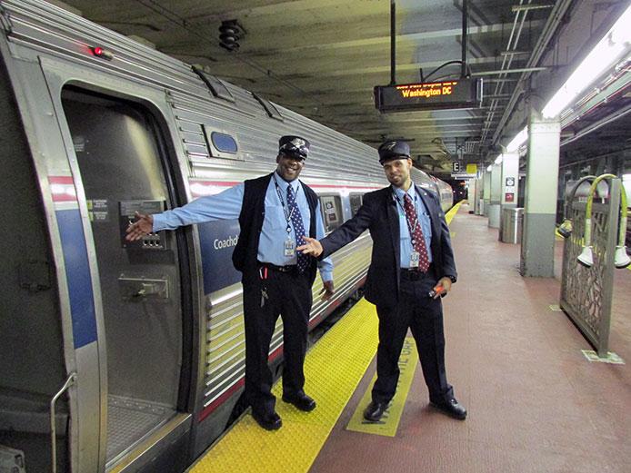 Welcome Aboard Amtrak