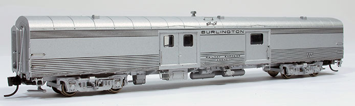 N Scale Baggage Car - CB&Q