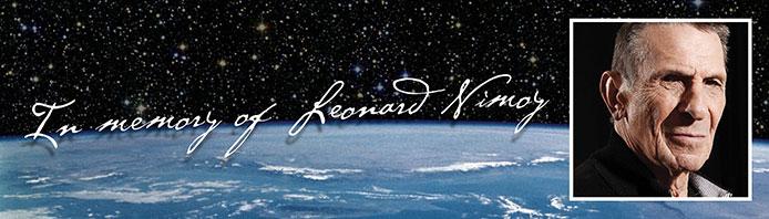 In Memory of Leonard Nimoy