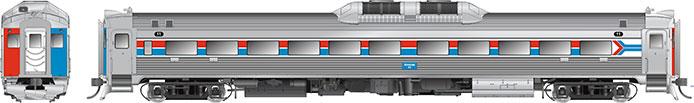 Rapido Amtrak RDC