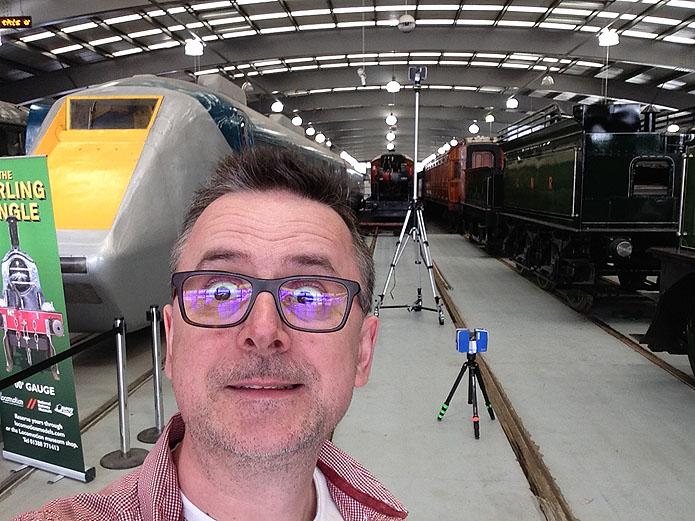 Craig scanning the Single at Shildon