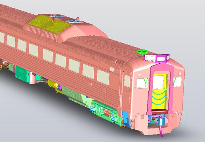 CN Rebuilt Rapido RDC