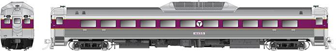 Rapido MBTA RDC