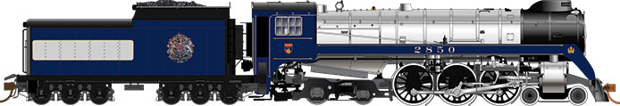 Rapido Royal Train Royal Hudson H1d
