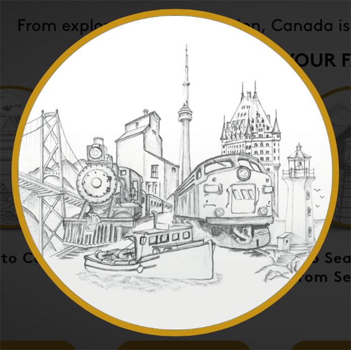 Canada 150 coin design