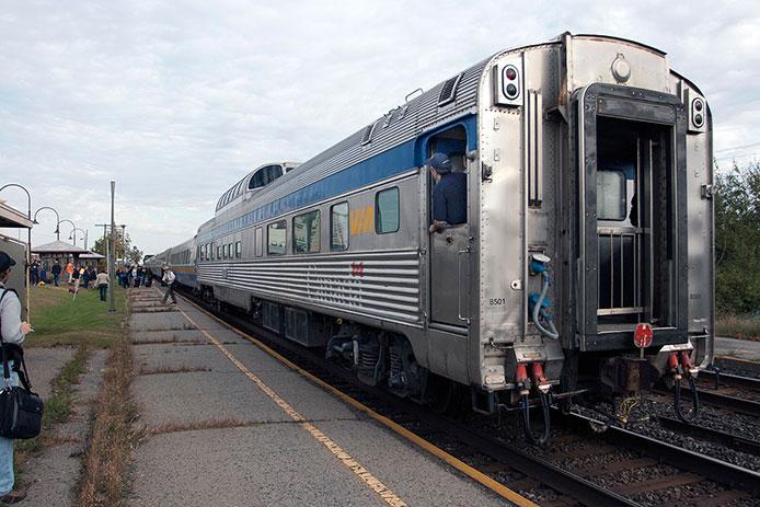 Rapido VIA Rail Excursion