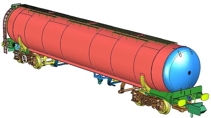 Rapido and Revolution Trains N TEA Tanker