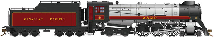 Rapido Canadian Pacific Royal Hudson H1c