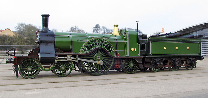 Rapido Trains Inc and Locomotion Models Stirling Single