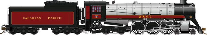 Rapido Canadian Pacific Royal Hudson H1e