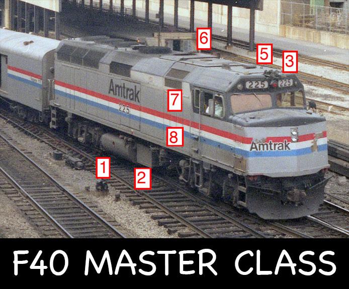 Amtrak F40 Master Class