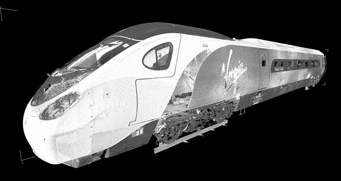Rapido Pendolino 3D Scan