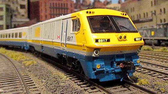 VIA Train Engine