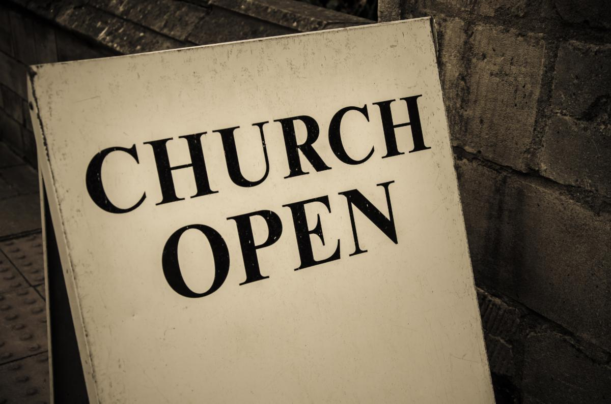 Church open image