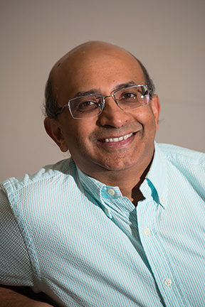 Senthil Todadri, MIT Professor of Physics. Photo, Denis Paiste, Materials Processing Center