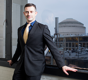 MIT Associate Professor of Mechanical Engineering Tonio Buonassisi. Photo, M. Scott Brauer