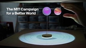 MIT President L. Rafael Reif announced May 6, 2016, the official launch of the MIT Campaign for a Better World, a comprehensive fundraising initiative.